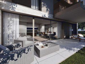 Wohnung3-Terrasse-Wohnen-Kochen
